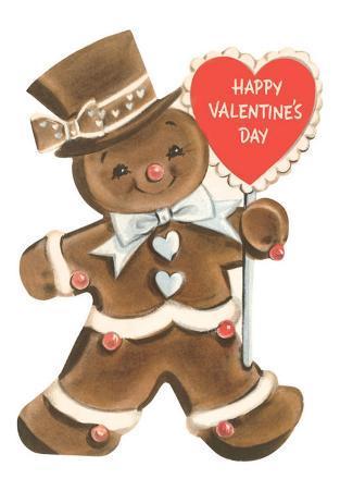 Happy Valentine's Day, Gingerbread Man