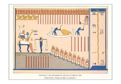 Painting from Tomb of the Kings, Thebes