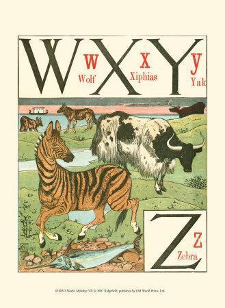 Noah's Alphabet VII