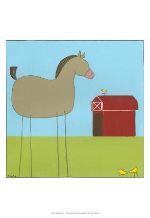 Stick-Leg Horse I