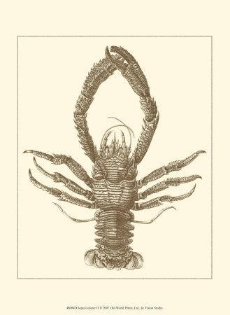 Sepia Lobster II