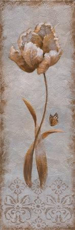 Tulip and Butterfly II