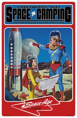 Space Age- Space Camping