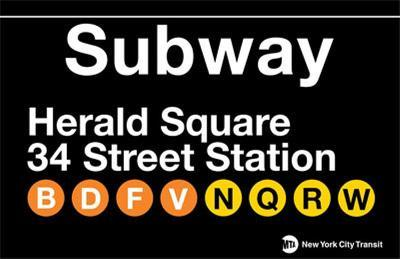 Subway Herald Square- 34 Street Station
