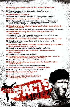 Chuck Norris- Facts #2
