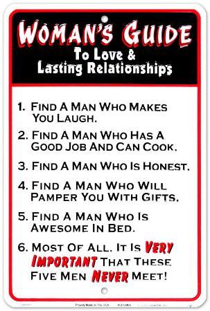 Woman's Guide To Love
