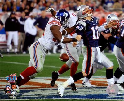 Justin Tuck - Super Bowl XLII