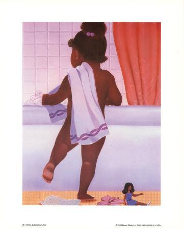 Bubble Bath Girl