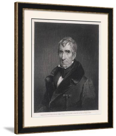 William Henry Harrison President of the United States Who Died in Office after Only One Month