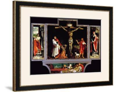 The Isenheim Altar, Closed, circa 1515