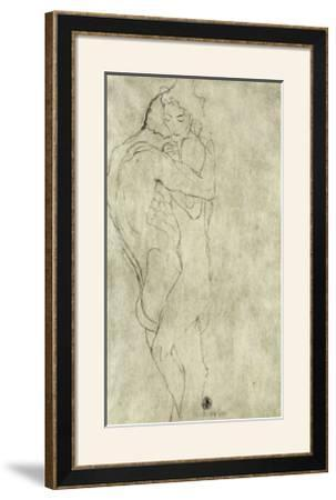 Lovers, Black Crayon (1908)