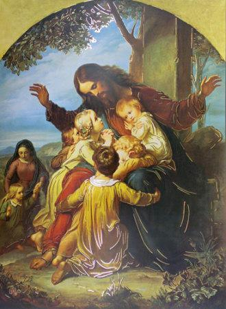 Christ with Babies