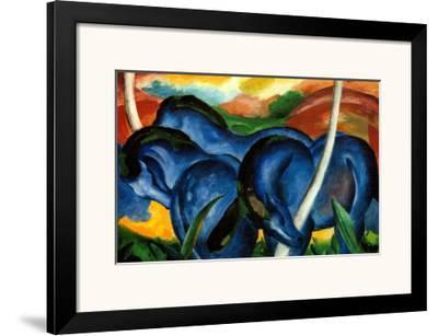 The Large Blue Horses, 1911