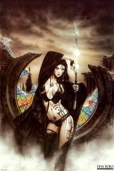 Stained Posters by Luis Royo at AllPosters.com