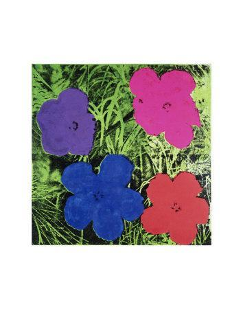Flowers (Purple, Blue, Pink, Red)