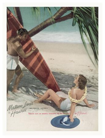 Matson Lines to Hawaii