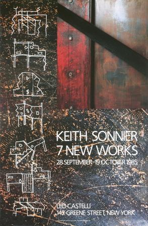 Seven Inner works at Leo Castelli, 1985