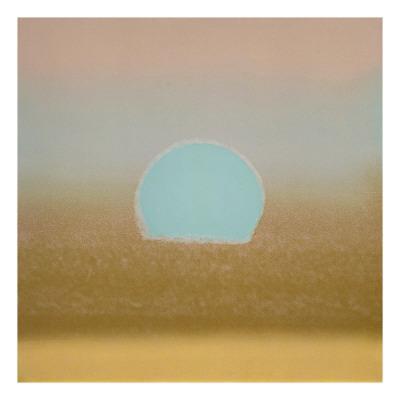Sunset, c.1972 (gold, blue)