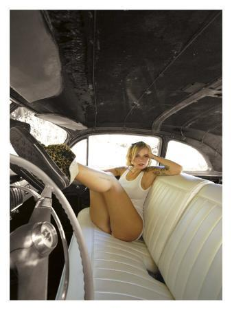 Hot Rod Pin-Up Girl