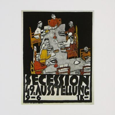 Poster of the 49th Secession Exhibition, c.1918