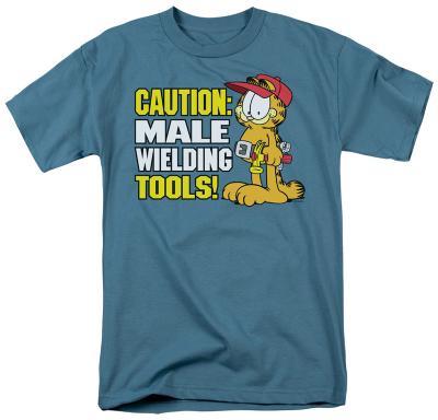 Garfield - Male Weilding Tools