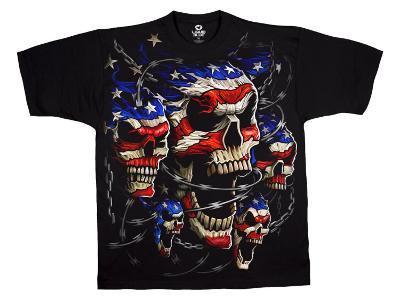Fantasy - Patriotic Skulls