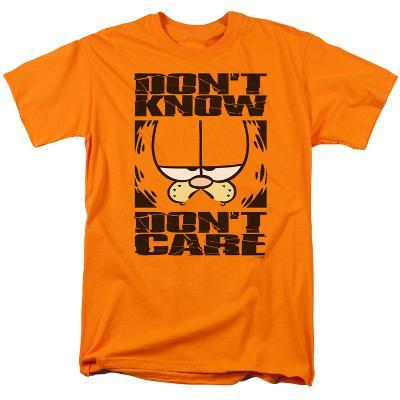 Garfield - Don't Know - Don't Care