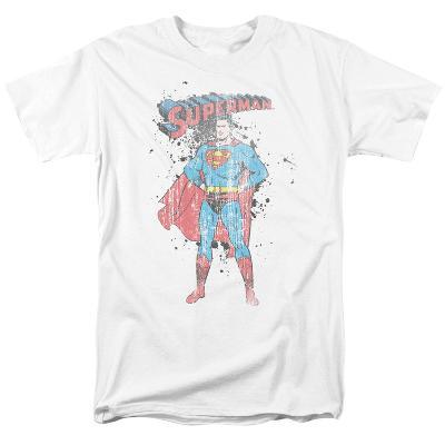 Superman - Vintage Ink Splatter
