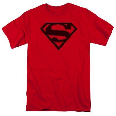 Superman - Red & Black Shield