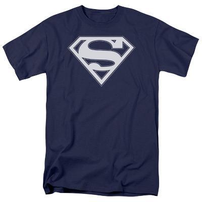 Superman - Navy & White Shield