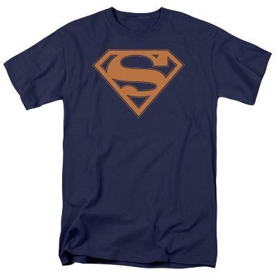Superman - Navy & Orange Shield