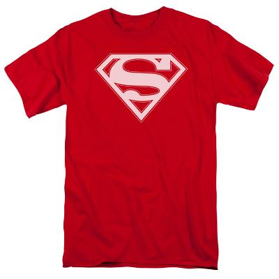 Superman - Red & White Shield