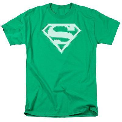 Superman - Green & White Shield