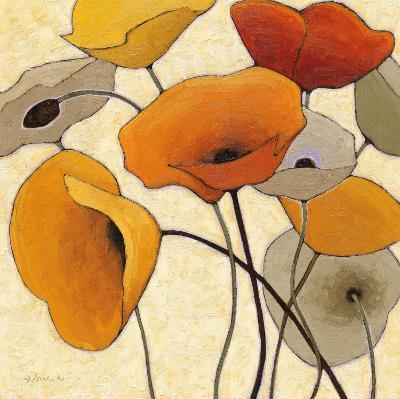 Pumpkin Poppies III