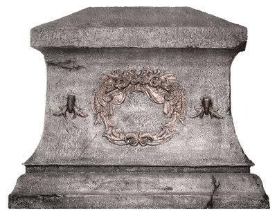 Big Chris Granite Tombstone Lifesize Standup