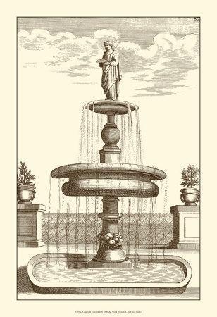 Courtyard Fountain II