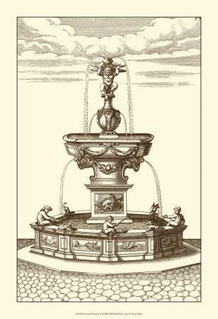 Courtyard Fountain IV
