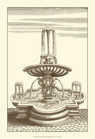 Courtyard Fountain V