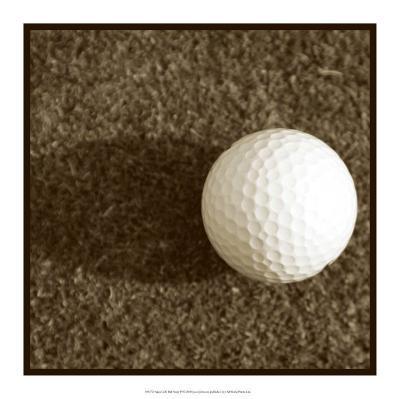 Sepia Golf Ball Study IV