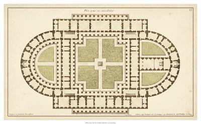Antique Garden Plan I