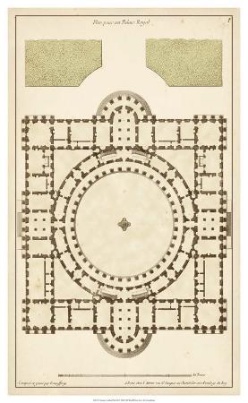 Antique Garden Plan III