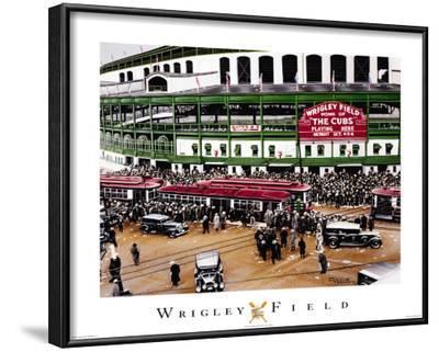 Wrigley Field, Chicago, Illinois
