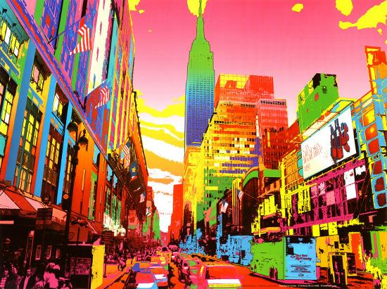 Empire State Building Posters By Geraldine Potron At