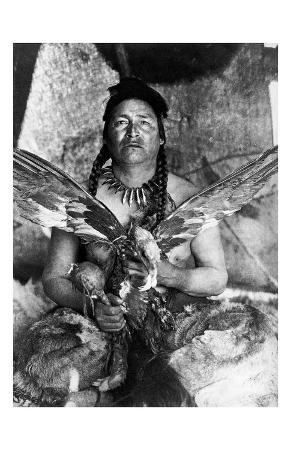 Placating the Spirit of a Slain Eagle, Assiniboin