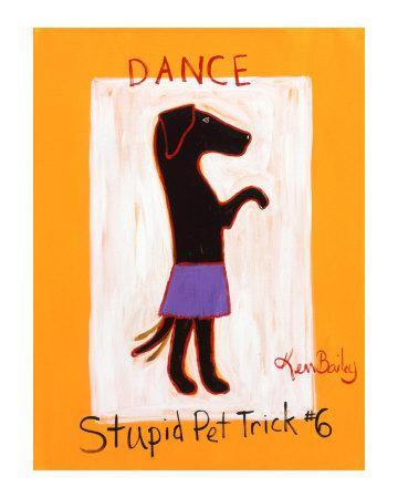 Dance-Stupid Pet Trick #6