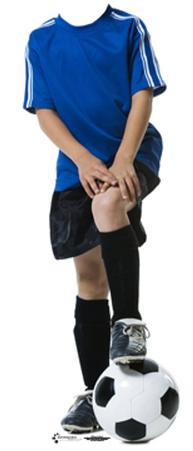 Soccer Boy Lifesize Stand-In