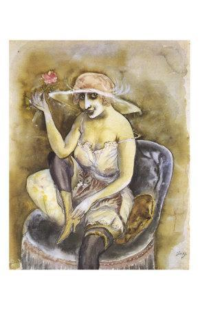 Jeune Fille a la Rose, c.1923