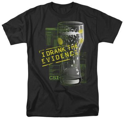 CSI - I Drank the Evidence