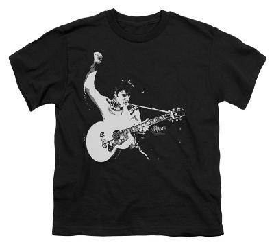 Youth: Elvis - Black & White Guitarman