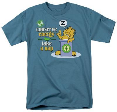 Garfield - Conserve Energy